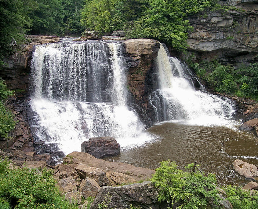 Blackwater Falls Waterfall