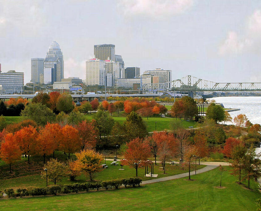 Fall Foliage in Louisville, Kentucky