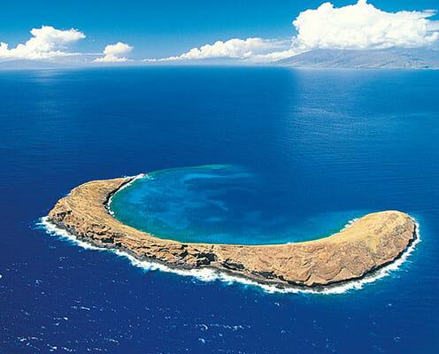 Molokini Island in Maui