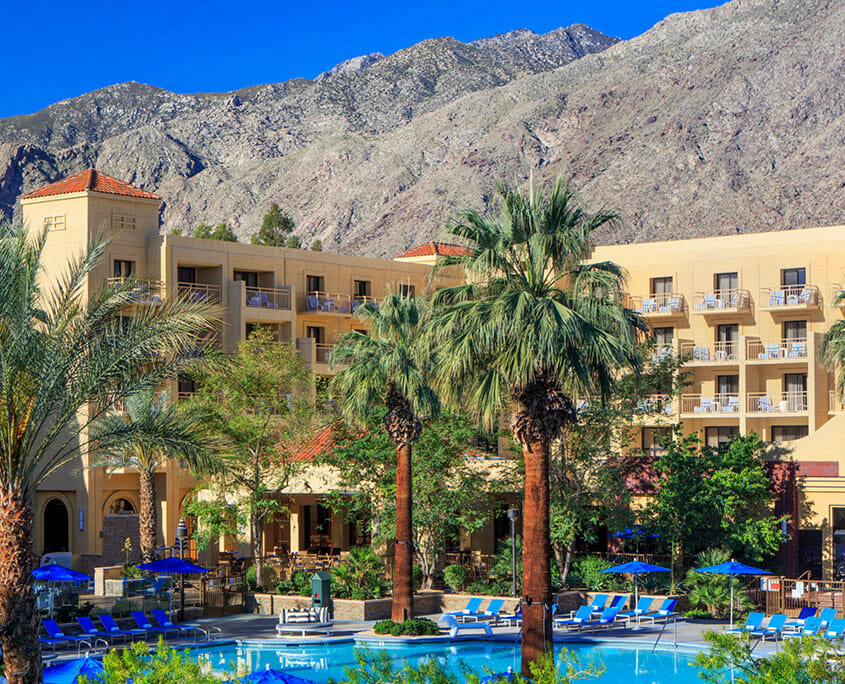 Renaissance Palm Springs Hotel Pool View