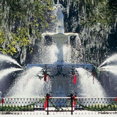 Savannah at Christmastime