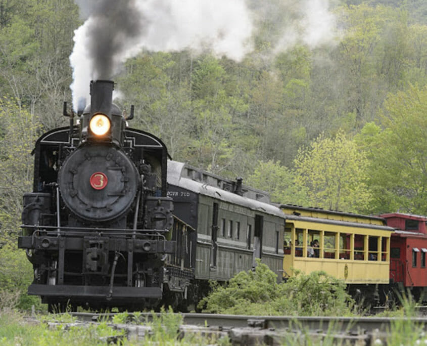 Trains of West Virginia