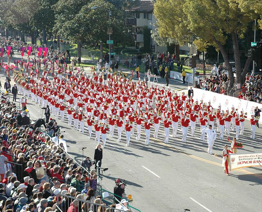 Marching Band Rose Parade