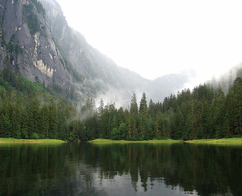 Misty Fjords Inlet