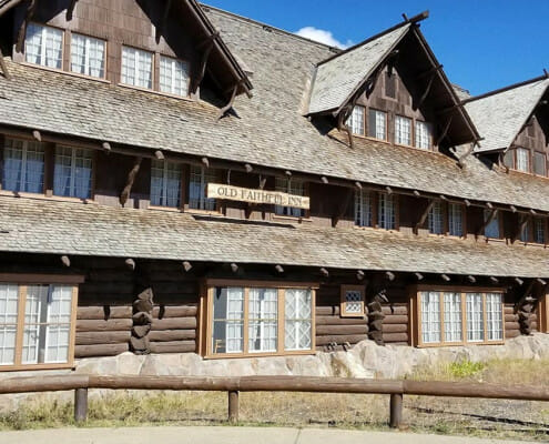 Old Faithful Inn, Yellowstone National Park, Wyoming