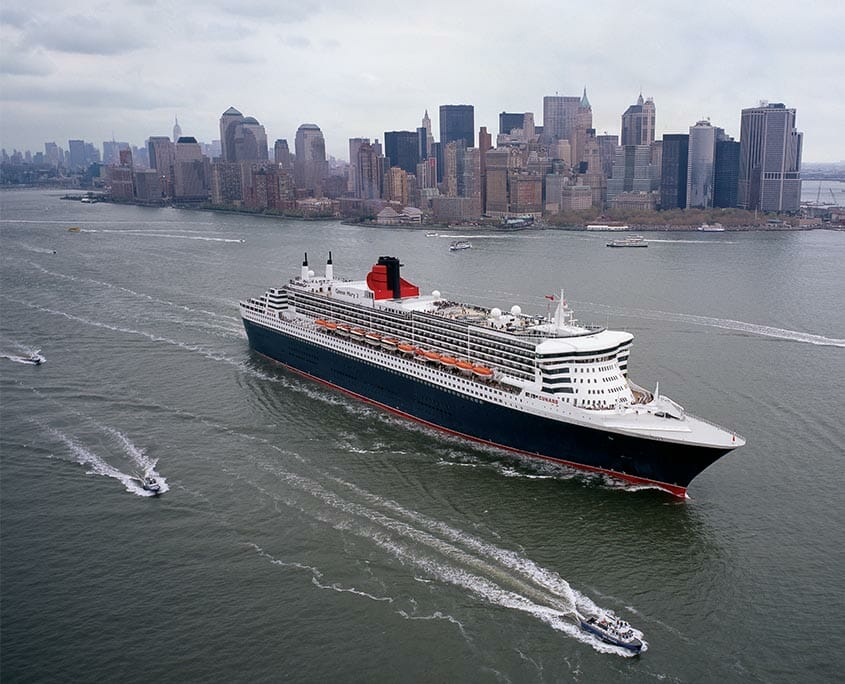 Queen Mary 2 NYC