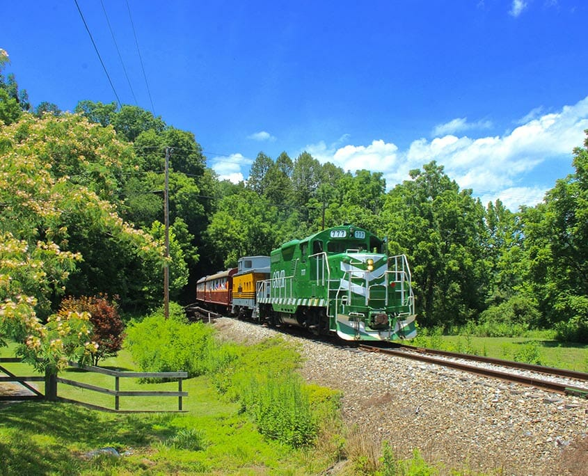 Smoky Mountains Train