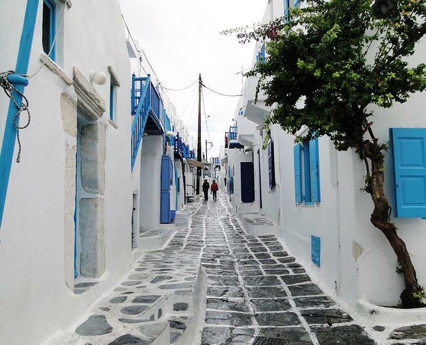 Street in Mykonos
