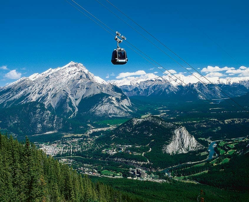 Sulfur Mountain Gondola
